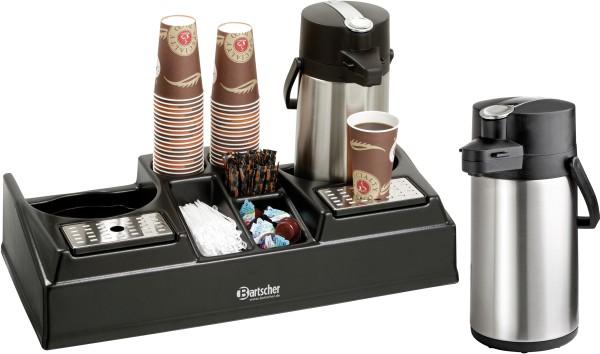 bartscher kaffeestation doppelt 2x pumpkanne art nr. Black Bedroom Furniture Sets. Home Design Ideas
